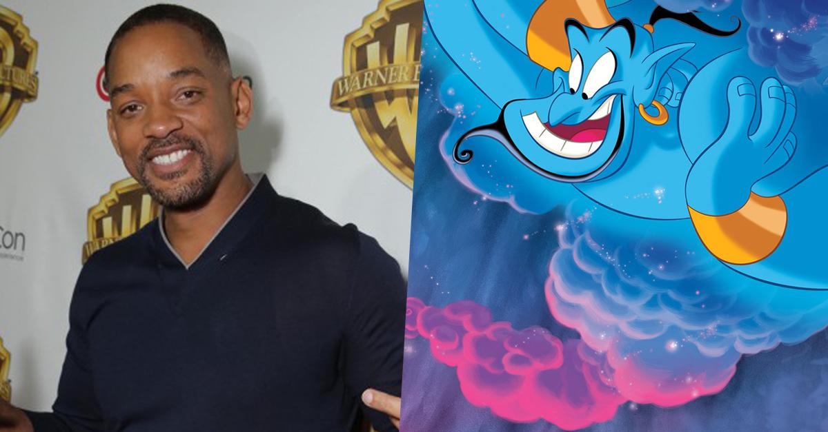 Will Smith lehet Dizsini az előszereplős Aladdin-filmben