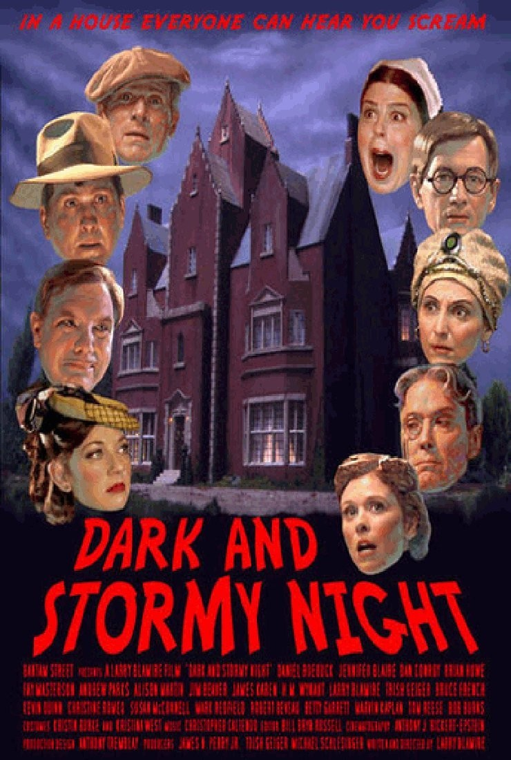 a description of a dark and stormy halloween night Explanation: it was a dark and stormy night but on august 29th the red planet   see if you go out tonight have a safe and happy halloween.