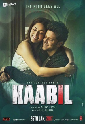 Poster - Kaabil (2017)