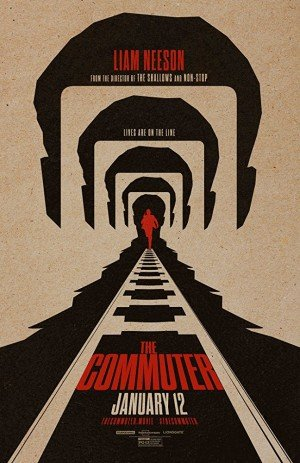 Poster - The Commuter (2017)