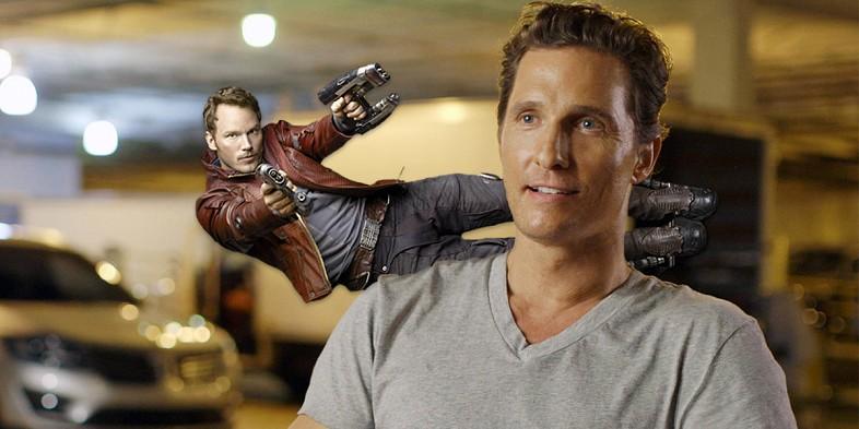 Matthew McConaughey A galaxis őrzői 2-ben? Megszületett a döntés!