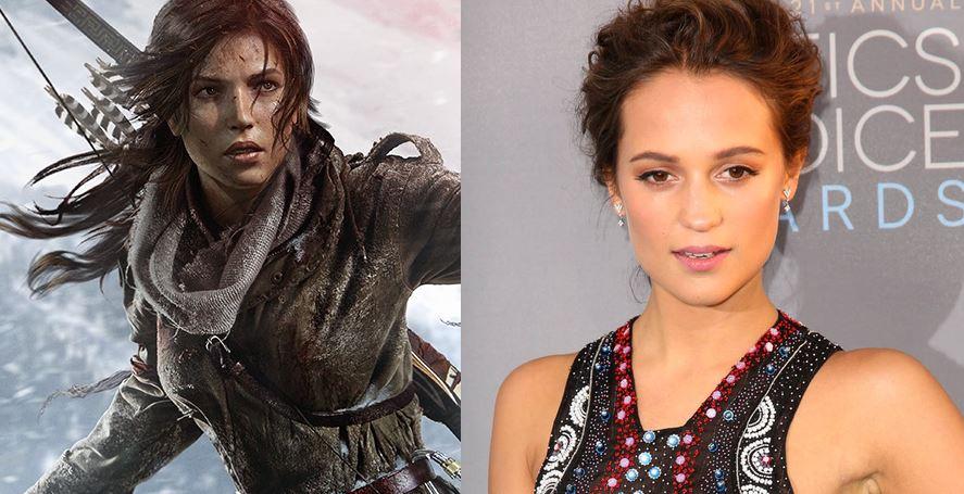 Alicia Vikander lesz Lara Croft a Tom Raider rebootban