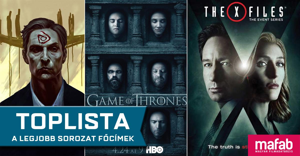 TOPLISTA: A legjobb sorozat főcímek