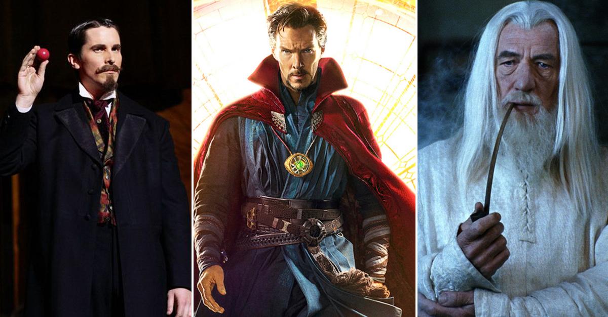 TOPLISTA: Bűvészek, varázslók, boszorkányok, mágusok a filmekben