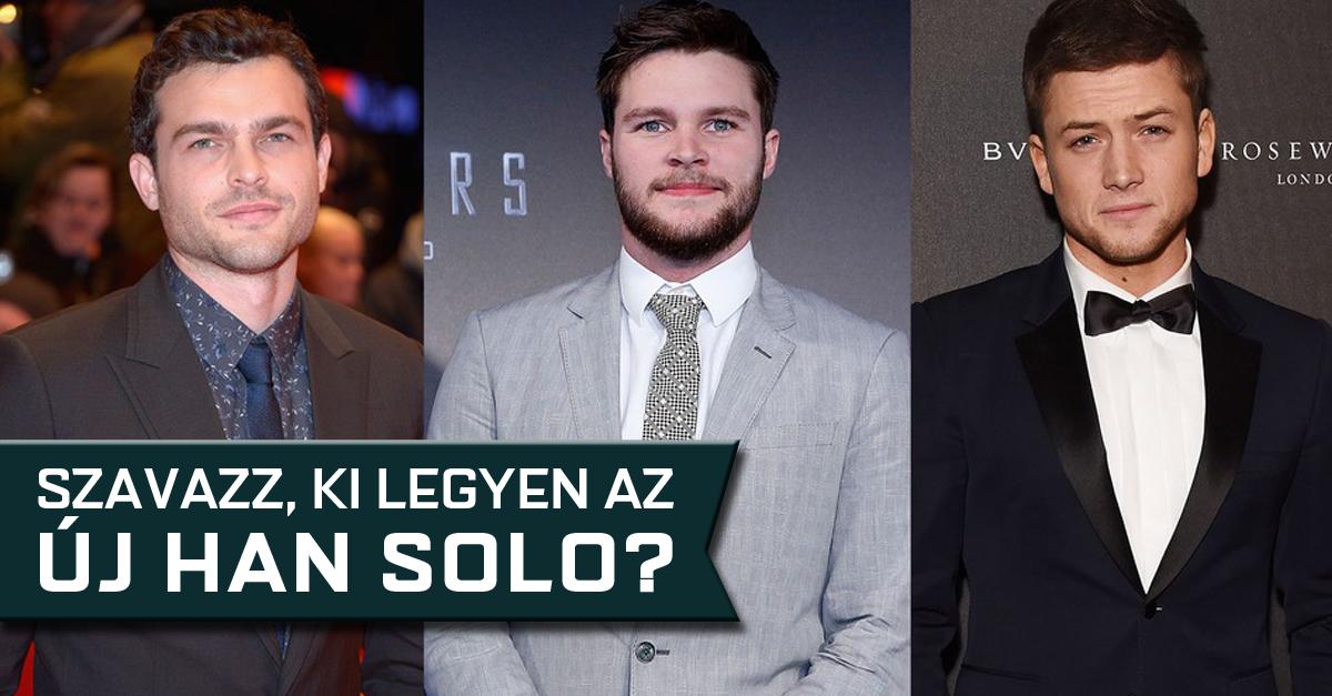 Ki legyen az új Han Solo? Szavazz!