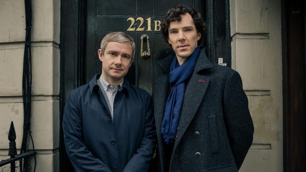 Már forog a Sherlock 4. évada