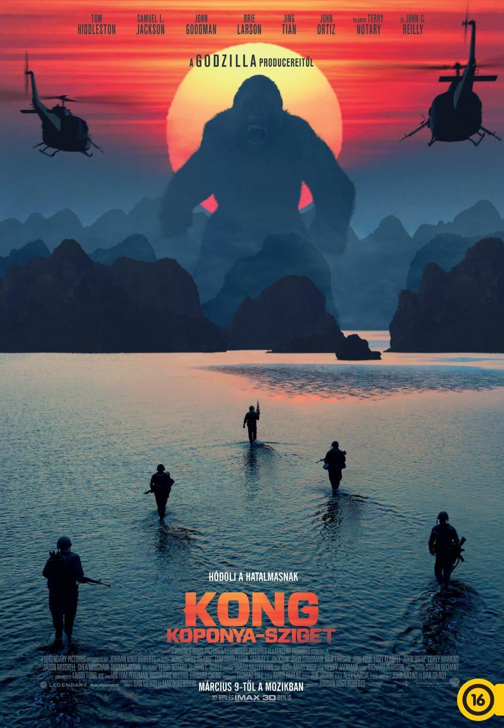 Kong Koponya Sziget Kong Skull Island 2017 Mafab Hu