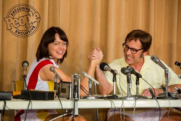 Battle of the Sexes előzetes - Emma Stone és Steve Carell összecsapása Oscart érhet