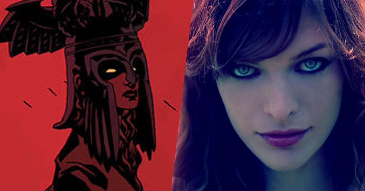 Milla Jovovich alakítja a Hellboy-reboot főgonoszát!