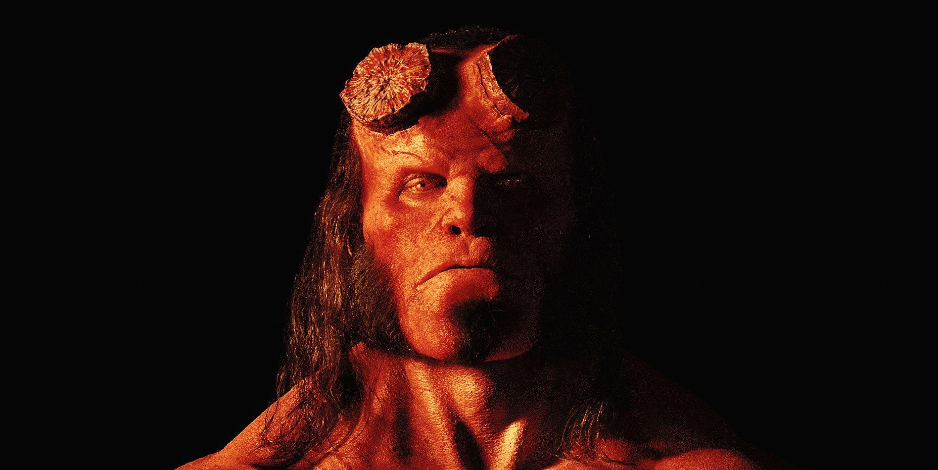 Itt az első fotó az új Hellboyról!