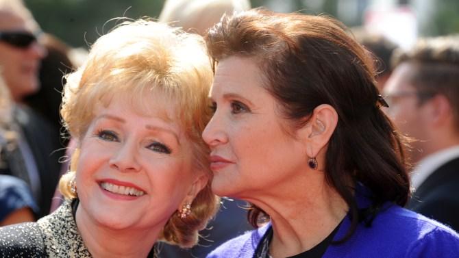 Posztumusz Golden Globe-díjat kap Carrie Fisher és Debbie Reynolds