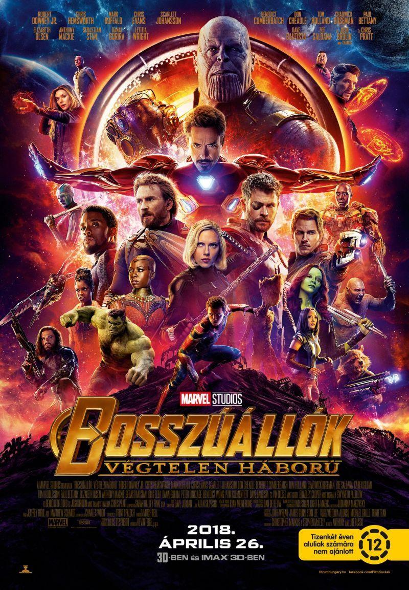 Bosszuallok Vegtelen Haboru Avengers Infinity War 2018 Mafab Hu