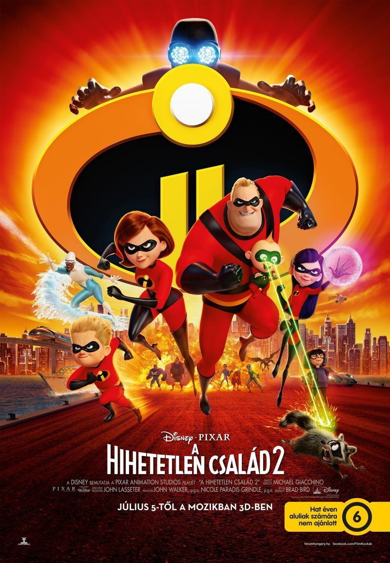 A Hihetetlen Csalad 2 Incredibles 2 2018 Mafab Hu