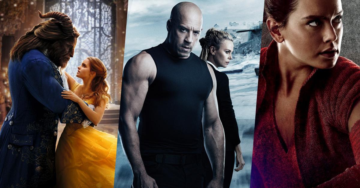TOP50: 2017 legsikeresebb és legnépszerűbb filmjei