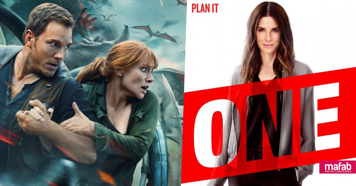 Az Oceans 8 ellopta a show-t, világszerte tarolt a Jurassic World 2