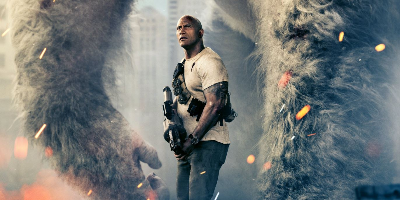 Dwayne Johnsonnál már csak az óriásgorilla hatalmasabb