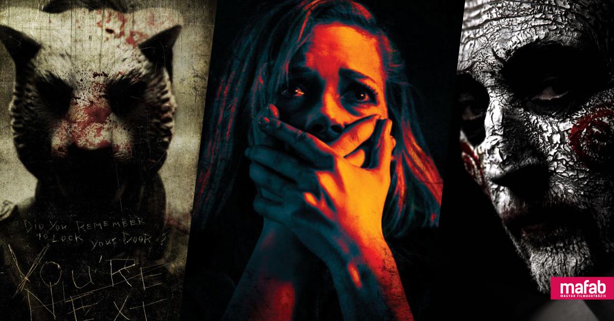 A 10 legjobb, egy helyszínen játszódó horrorfilm