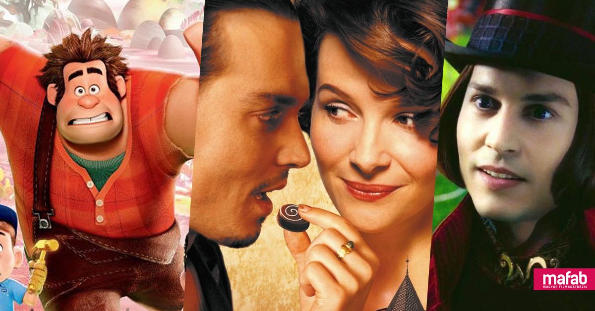 10+1 film, amitől garantáltan megkívánod az édességet