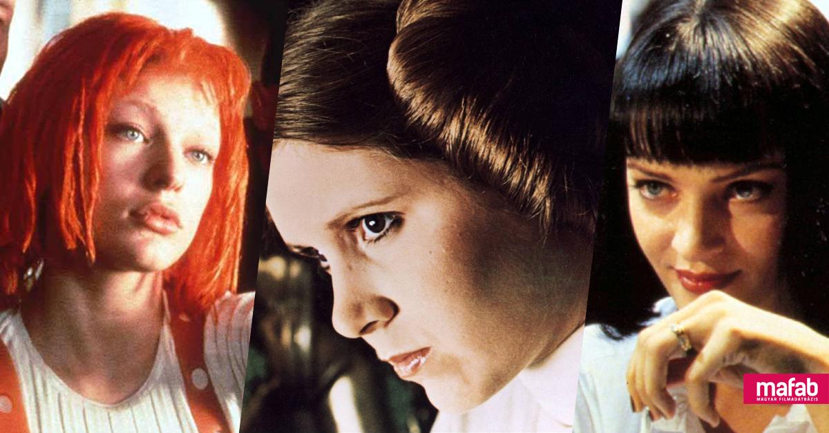 A 25 legjobb filmes hajviselet