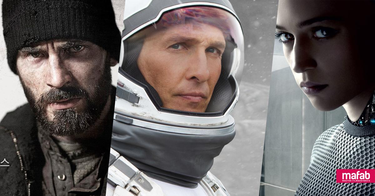TOPLISTA: Az elmúlt 5 év legjobb sci-fijei (2013-2018)