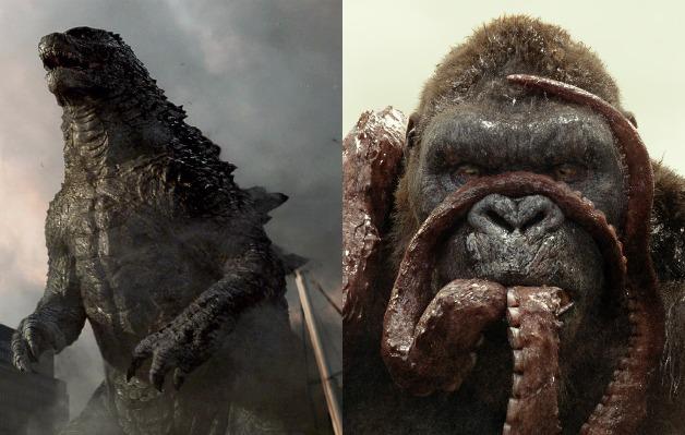 Kong és Godzilla összecsap