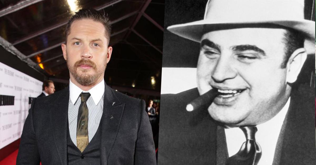 Hivatalos, Tom Hardy lesz Al Capone