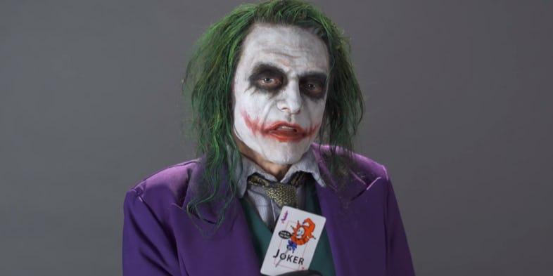 Így alakítaná Jokert a világ legrosszabb filmese