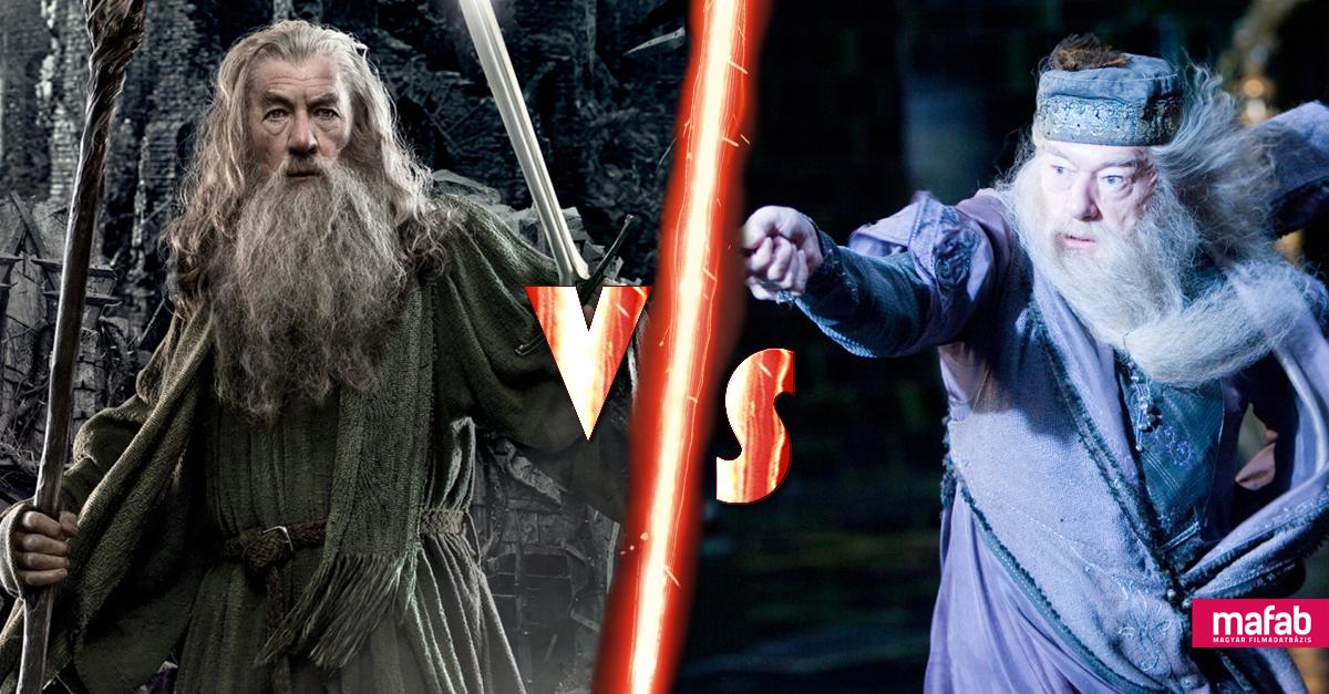 Gandalf vs Dumbledore: Vajon ki győzne ebben a párharcban?