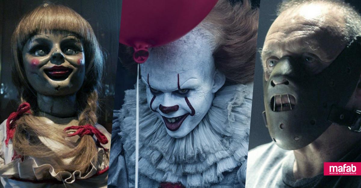 TOPLISTA: Minden idők legmagasabb bevételű horrorfilmjei