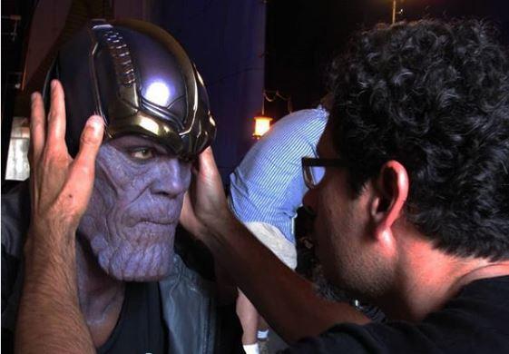 Így nézett ki eredetileg Thanos, Josh Brolin szerződtetése előtt (forgatási fotó)
