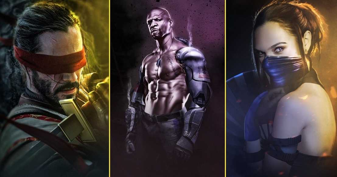Ilyen lenne a Mortal Kombat Keanue Reeves-szel és Gal Gadot-val! (galéria)