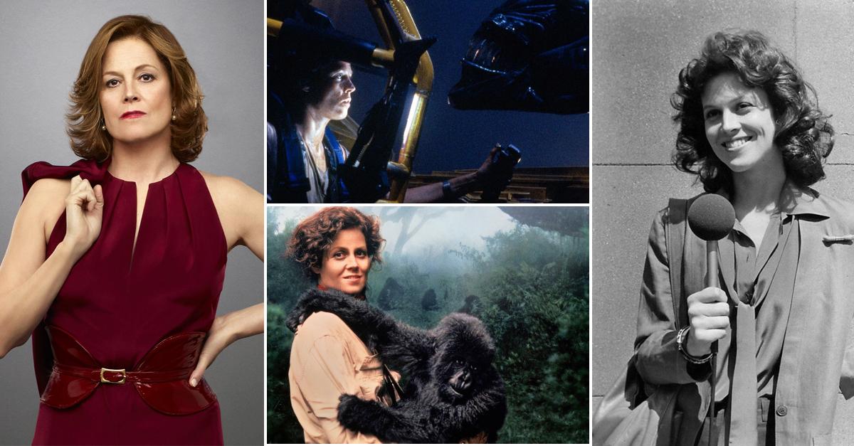 Egy karrier képekben: Sigourney Weaver, a legkeményebb nő Hollywoodban!
