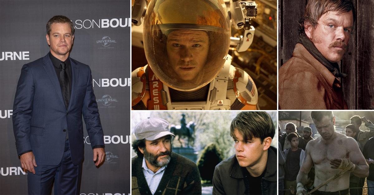 Egy karrier képekben: Matt Damon