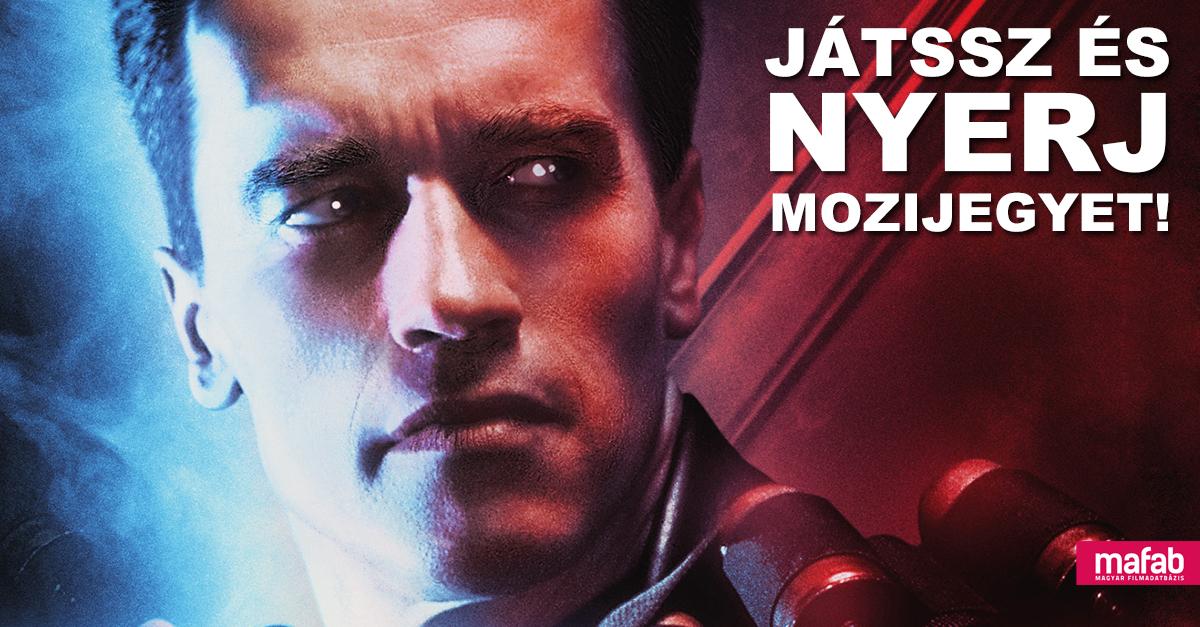 Játssz és NYERJ páros belépőjegyet a digitálisan felújított Terminator 2 3D-re!