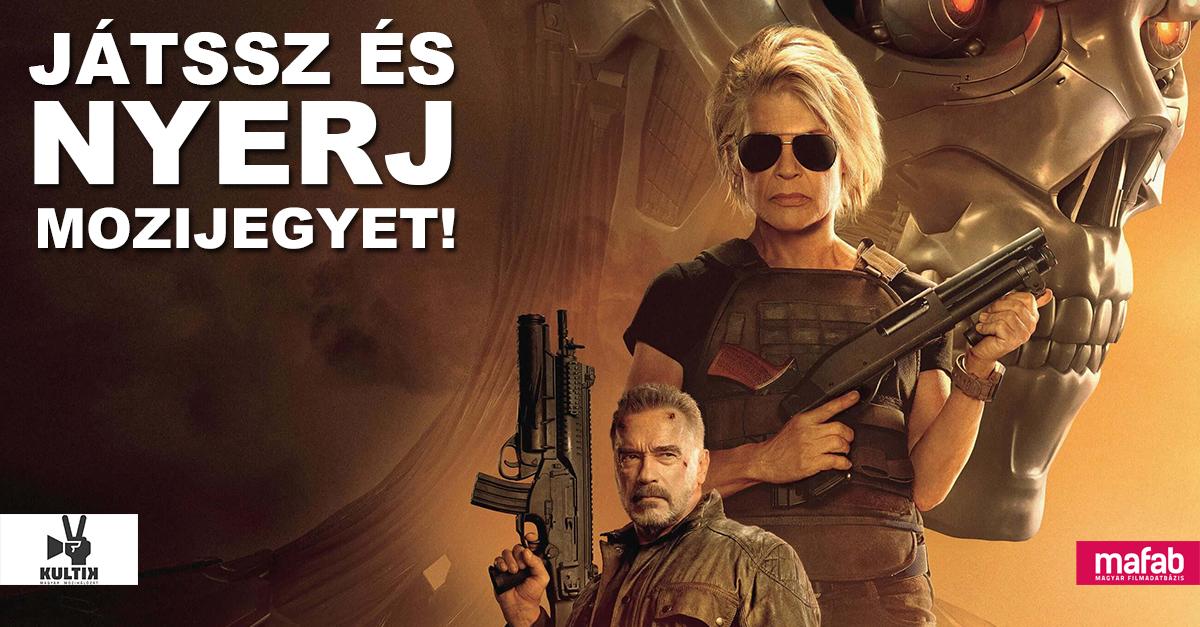 Játssz és NYERJ páros mozijegyet a Terminator: Sötét végzetre!