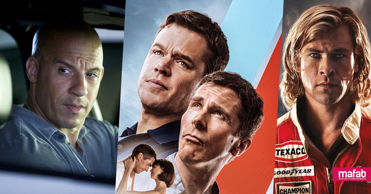 TOP: A legjobb autóversenyzős filmek