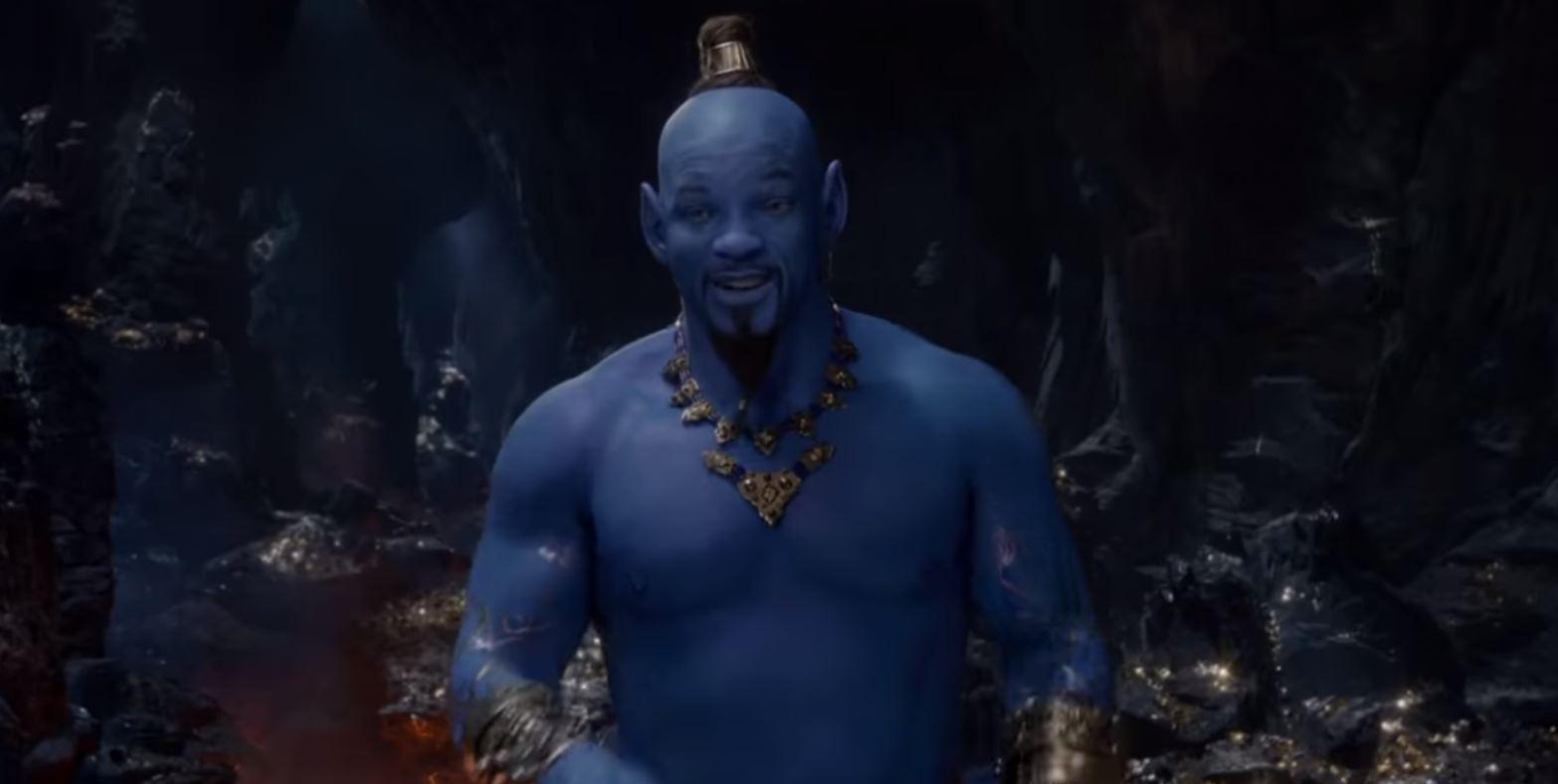 Szürreálisan fest Will Smith kék Dzsinnje, itt az Aladdin előzetese