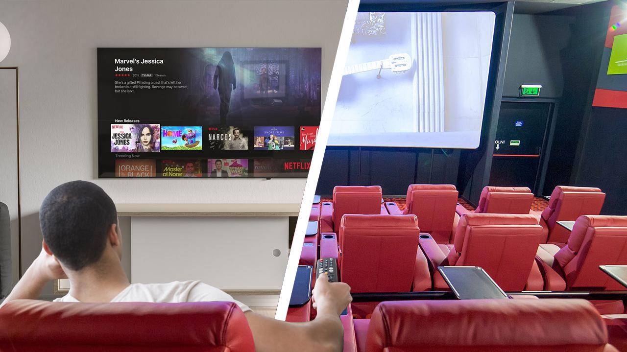 A fogyasztók 70 százaléka inkább otthon mozizna