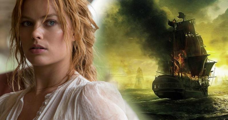 Margot Robbie-val a főszerepben jön az új Karib-tenger kalózai film!