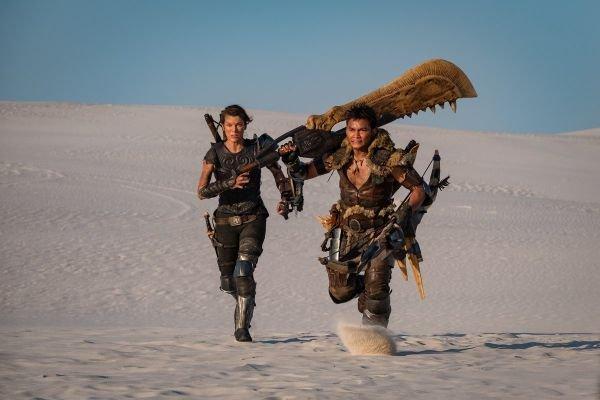 Erről szól majd Milla Jovovich új filmje, a Monster Hunter