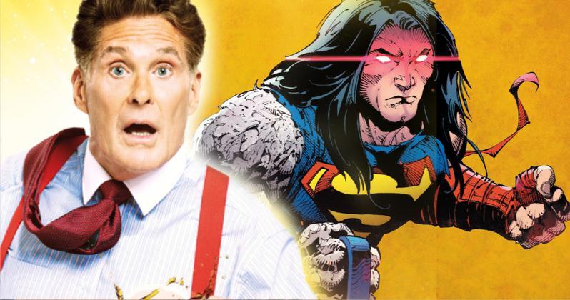 David Hasselhoff lesz Superman, mondjuk a részleteket!