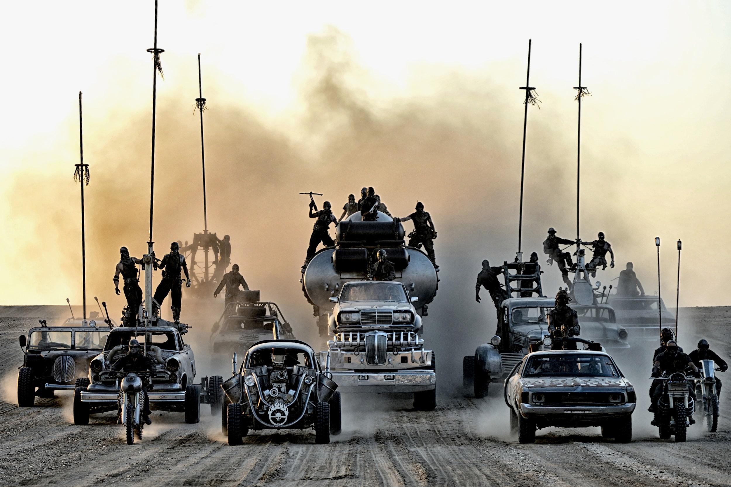A Mad Max: A harag útjáé minden idők legizgalmasabb autós üldözése