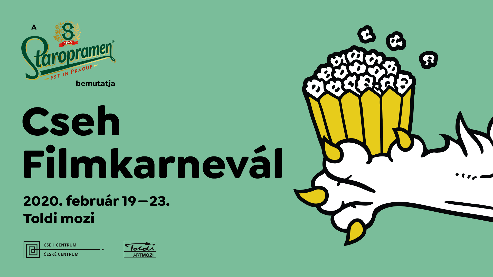 Ha február és farsang, akkor Cseh Filmkarnevál!