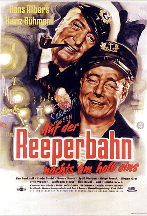Auf Der Reeperbahn Nachts Um Halb Eins 1954