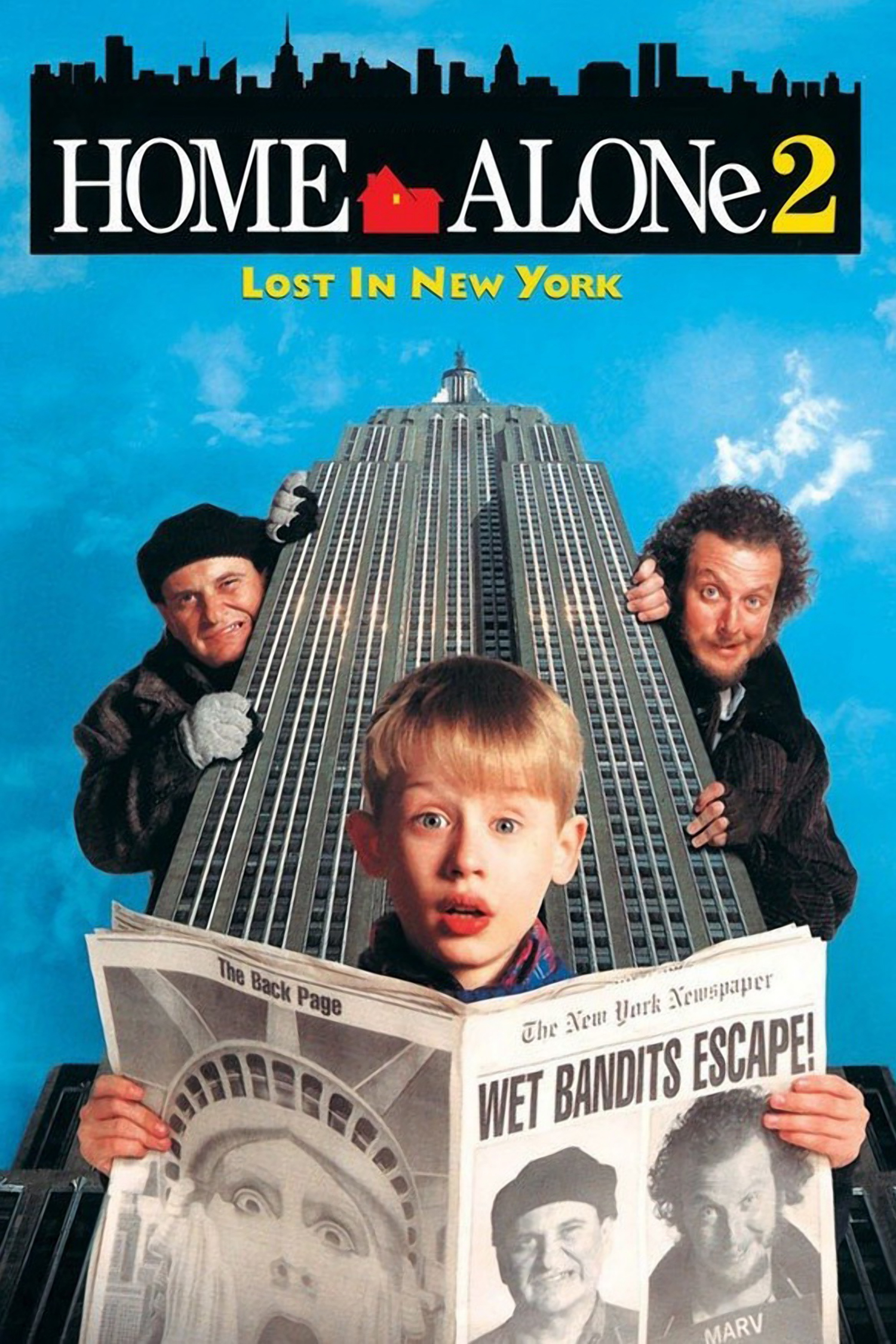 Reszkessetek Betorok 2 Elveszve New Yorkban Home Alone 2 Lost In New York 1992 Mafab Hu