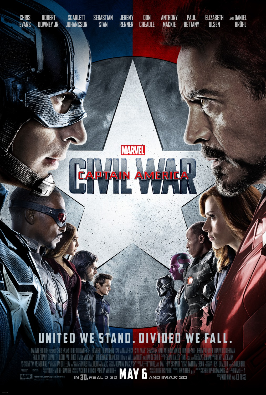 Amerika Kapitany Polgarhaboru Captain America Civil War 2016 Mafab Hu