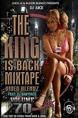 DJ Juice - The King is Back Mixtape Blend Dvd Vol. 70