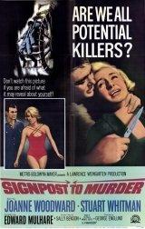 Útjelző tábla a gyilkossághoz