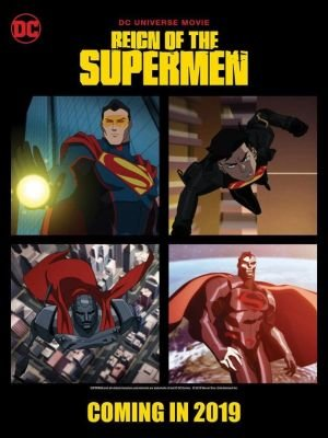 Poster - Reign of the Supermen (2019)